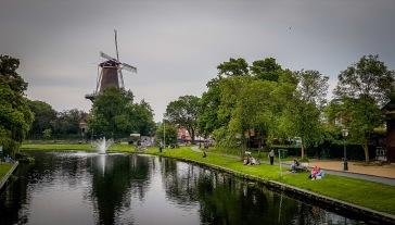 Molino en Leiden