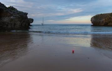 Playa de puerto chico