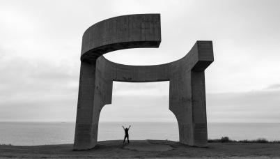 Elogio del horizonte (chillida, Gijón)
